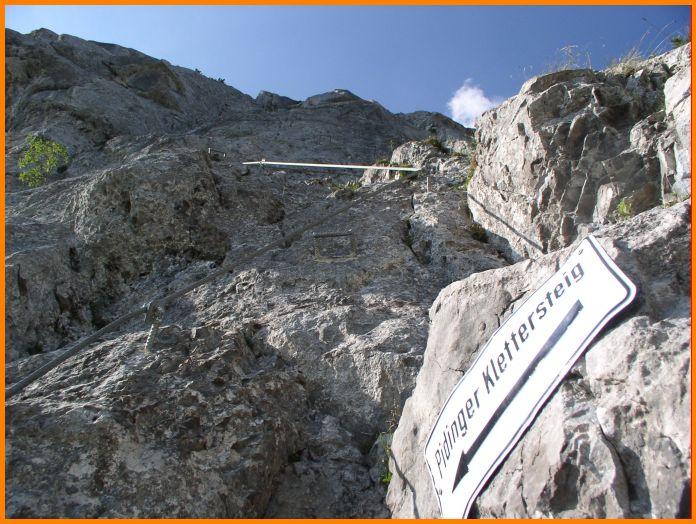 Pidinger Klettersteig : Dav erding pidinger klettersteig